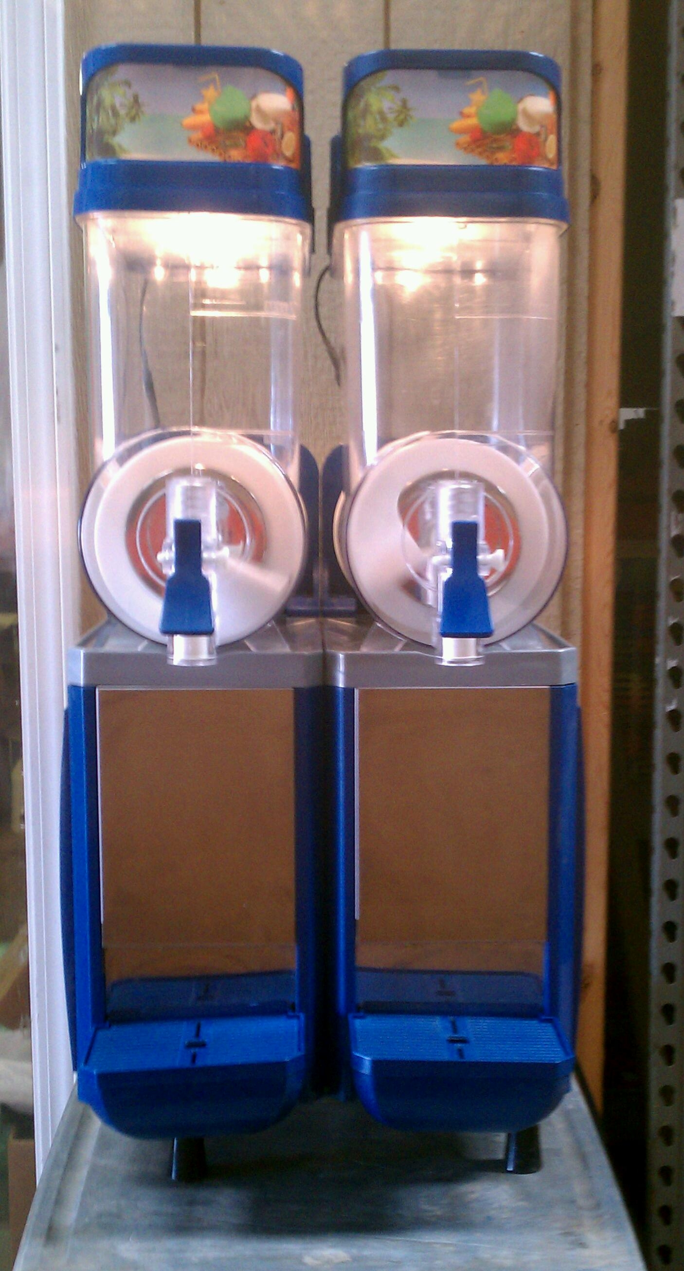 Used Faby Double Frozen Drink Machine - Margarita Machine